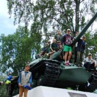 Лето 2013. Лагерь Юных спасателей.