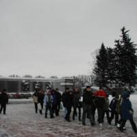 Пискарёвское кладбище 27 января 2011г.