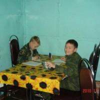 осенние учебные сборы 2010г.