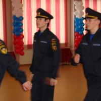 Посвящение кадетов в школе № 57